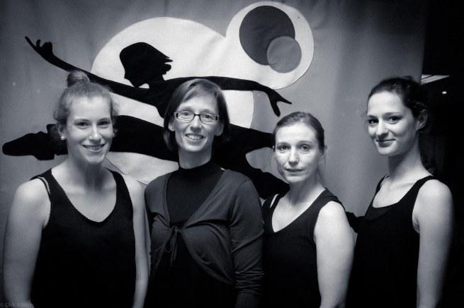 Tine Van Maelsaeke en enkele lesgeefsters