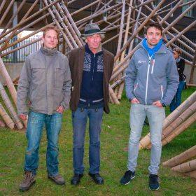 Wim Van Herck, Georges Cuvillier, Pieter Taccoen